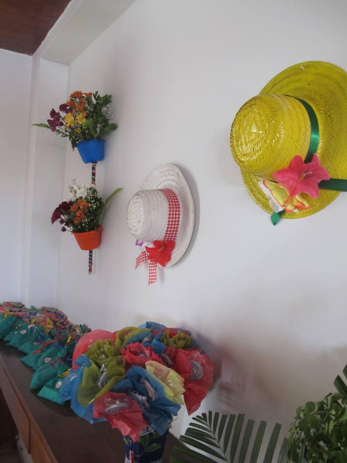 Parta da decoração feita por Glória Lyra