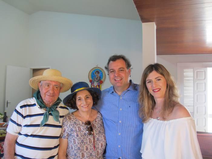Alberto e Carmem Ferreira da Costa, Cacau e Alberto Ferreira da Costa Filho