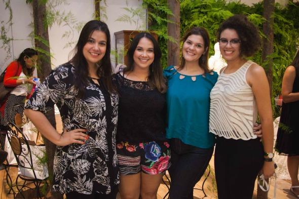 Clarice Possidônio, Nina Lacerda, Patricia Fortes e Julianna Nascimento. Crédito: Arquivo pessoal / Divulgação