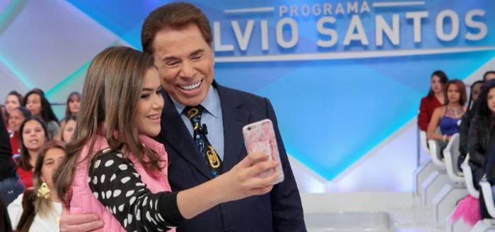 Maisa e Silvio Santos/SBT/Divulgação