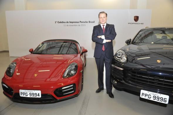 Matthias Bruck - Presidente da Porsche Brasil. Crédito: Mario Henrique/Divulgacao.