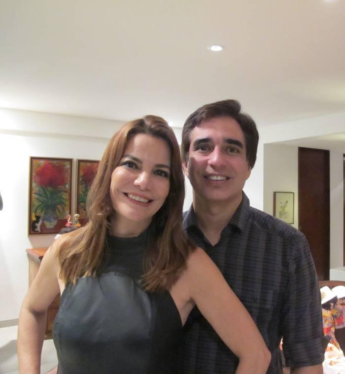 Daniela Gusmão e Olavo Andrade Lima