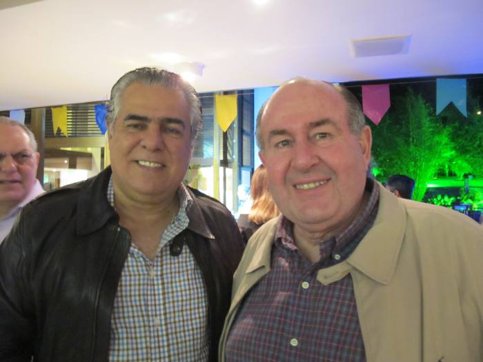 José Pinteiro e Marcos Freire
