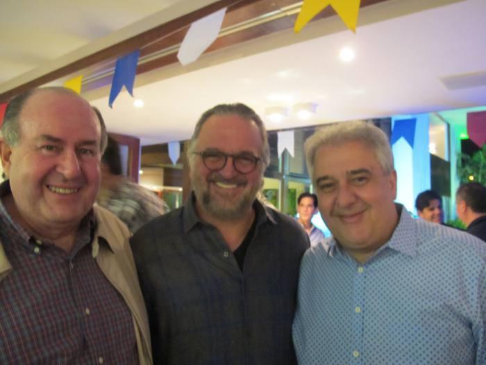 Marcos Freire, Francisco Olicveira e Augusto Coutinho