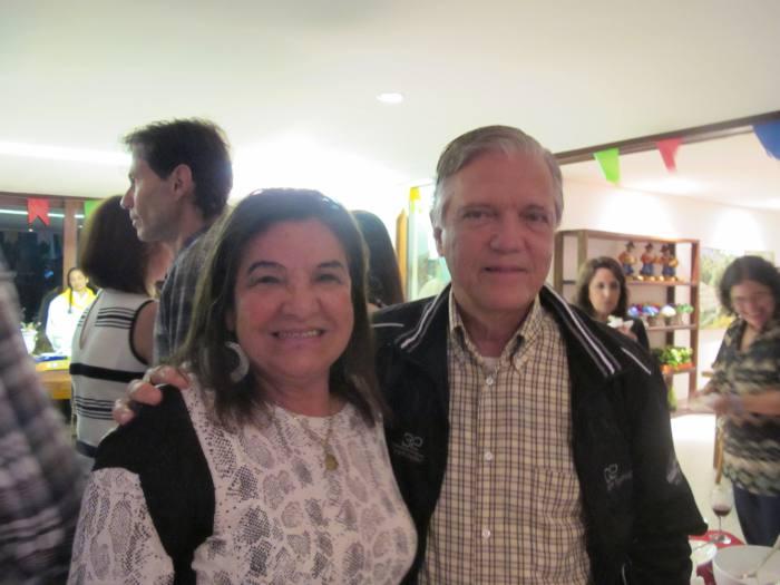 Edina e Eurico Barros