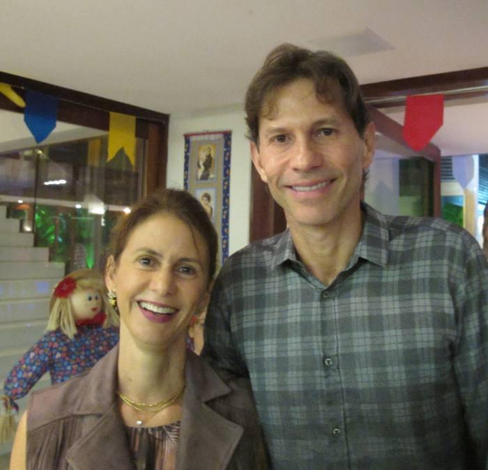 Roberta e Gustavo Dubeux