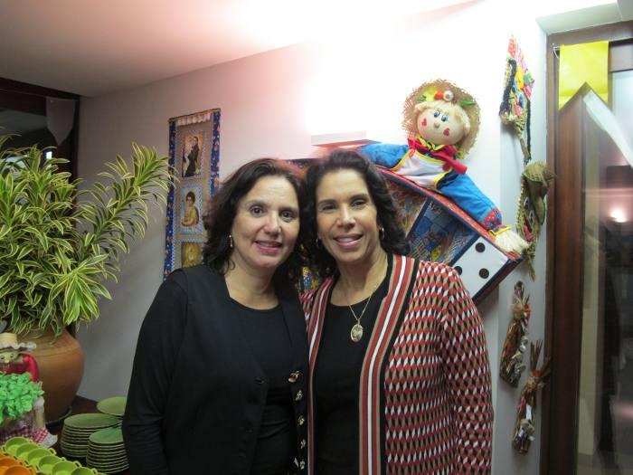 Amelinha Peixoto e Tereza Brennand Oliveira