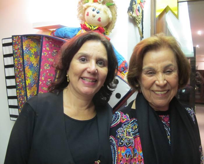 Amelinha e Juju Peixoto