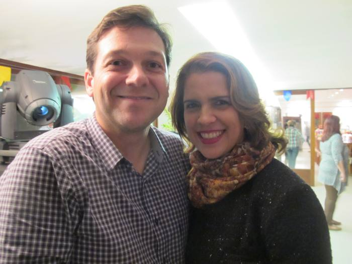 Geraldo Julio e Cristina Melo
