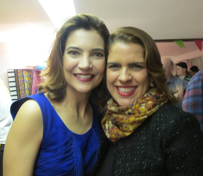 Sandra Norões e Cristina Melo