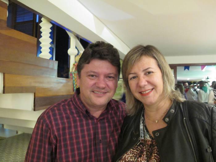 Sileno e Eduarda Guedes
