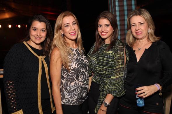 Beatriz Mayer, Germana Carvalheira, Germana Barbosa e Rosa Montes. Crédito: Vinícius Ramos / Divulgação