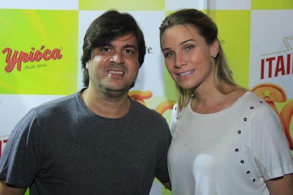 Bruno Rego e Manuca Furtado. Crédito: Luiz Fabiano / Divulgação