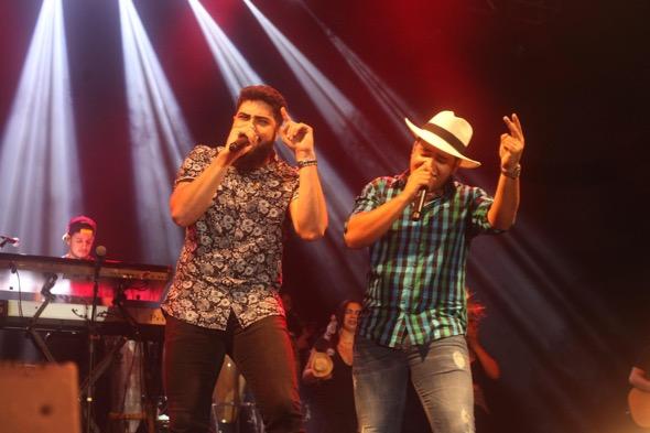 Henrique e Juliano. Crédito: Vinícius Ramos / Divulgação