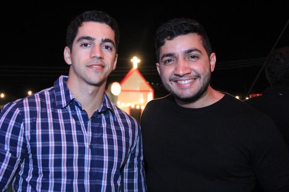 Leandro Cabral e Ricardo Queiroz. Crédito: Luiz Fabiano / Divulgação