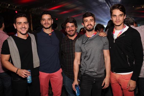 Produtores da noite. Crédito: Vinícius Ramos / Divulgação