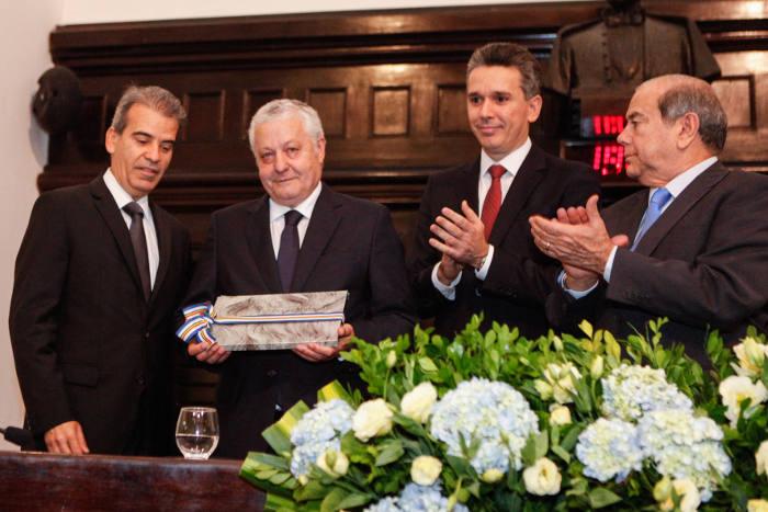 Alberto Feitosa, Mário Carvalho, Felipe Carreras e Romário Dias