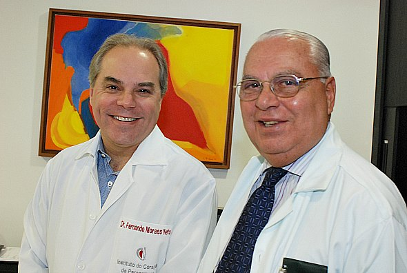 Fernando e Carlos Moraes - Crédito: Nando Chiappetta/DP