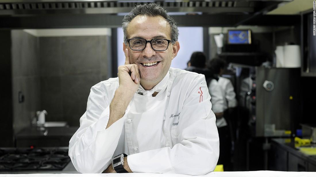 Massimo Bottura, chef do melhor restaurante do mundo, segundo a Forbes - Crédito: Divulgação/cnn.com