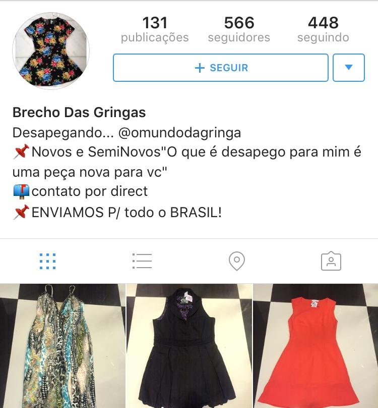 255da8ee911 Os dez brechós online do Recife