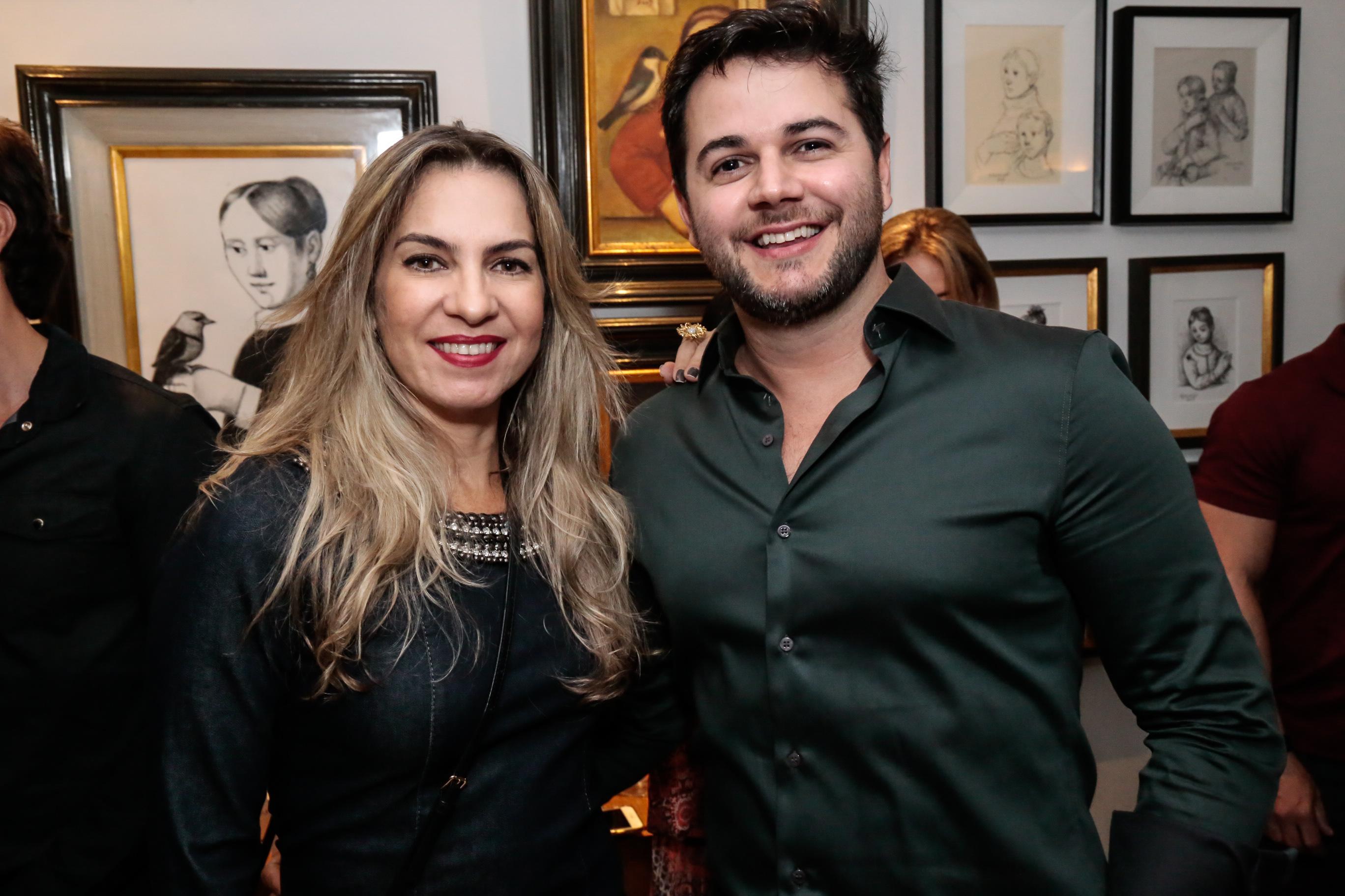 Taciana Carulla e Heracliton Diniz - Crédito: Gleyson Ramos/Divulgação