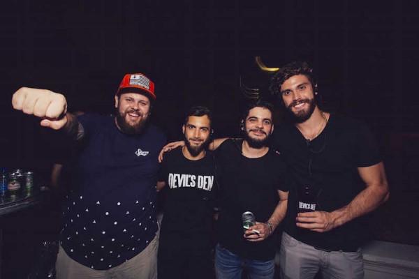 Lucas Logiovine, Steve Coimbra, Fernando e Eric Numeriano - Crédito: Lana Pinho/Divulgação