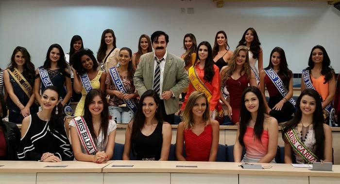Candidatas Miss PE & Palestrante Fernando Farias