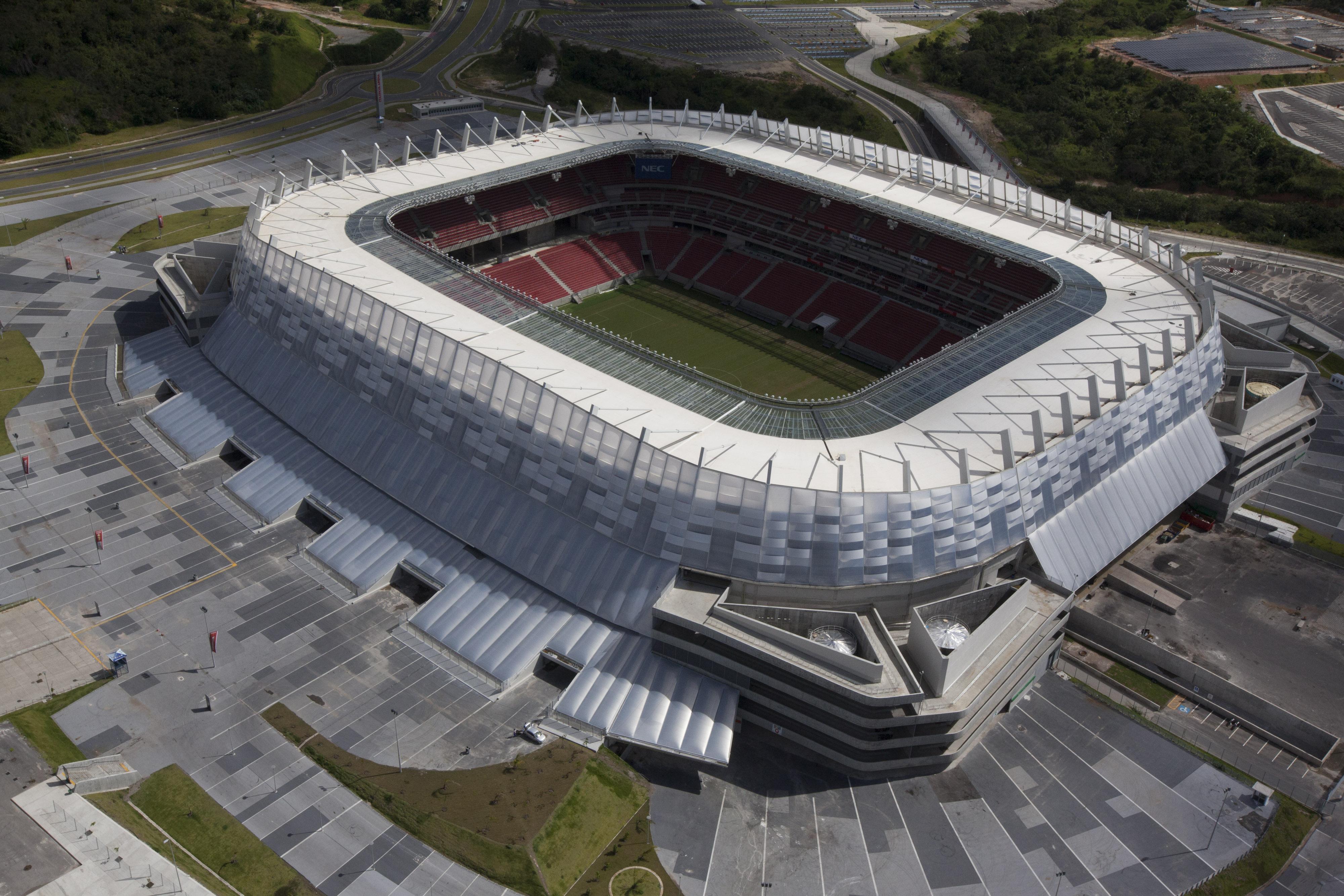Foto: Ana Araújo-Faquini/ Portal da Copa (15/08/2013) 14/08/2015- São Lourenço da Mata- PE, Brasil- Operação Fair Play da PF investiga irregularidades na construção da Arena Pernambuco.