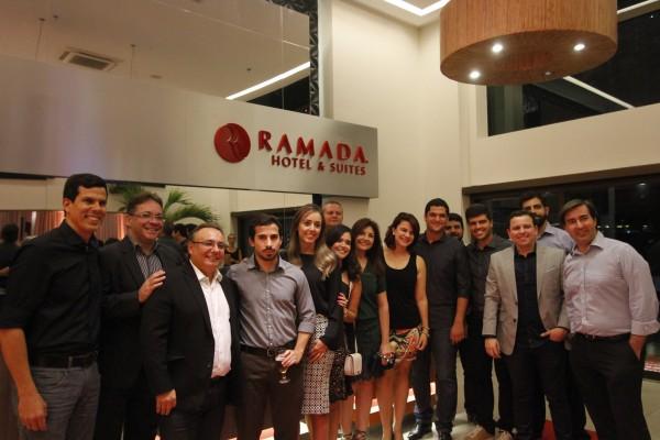 Integrantes da construtora Rio Ave -  Crédito: Ricardo Fernandes/DP