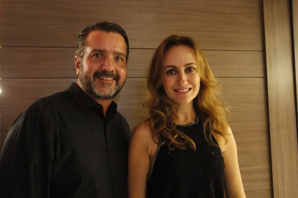 Humberto e Analice Zirpoli. Credito: Ricardo Fernandes/DP. Blog Joao Alberto