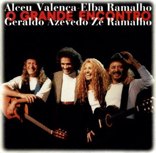 Capa do disco do projeto O Grande Encontro, lançado em 1996 - Crédito: Reprodução