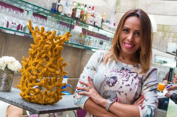 Paula Ardanza inaugura a Cake & Bake - Crédito: Tatiana Sotero/DP