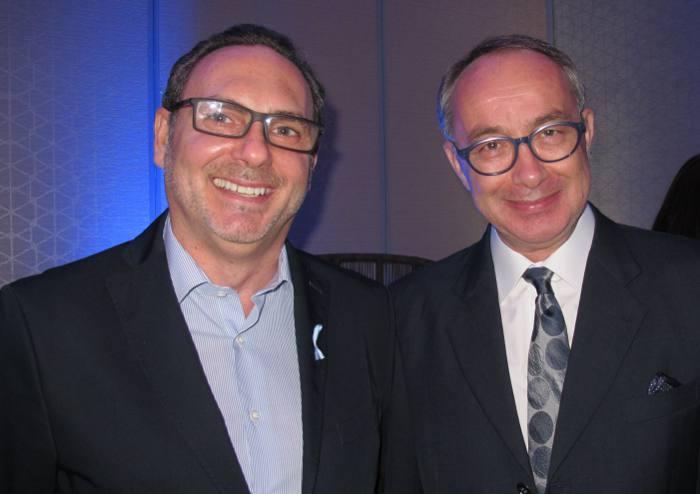 Consules Marco Ferreira de Melo, de Portugal, e Bruno Bisson, da França