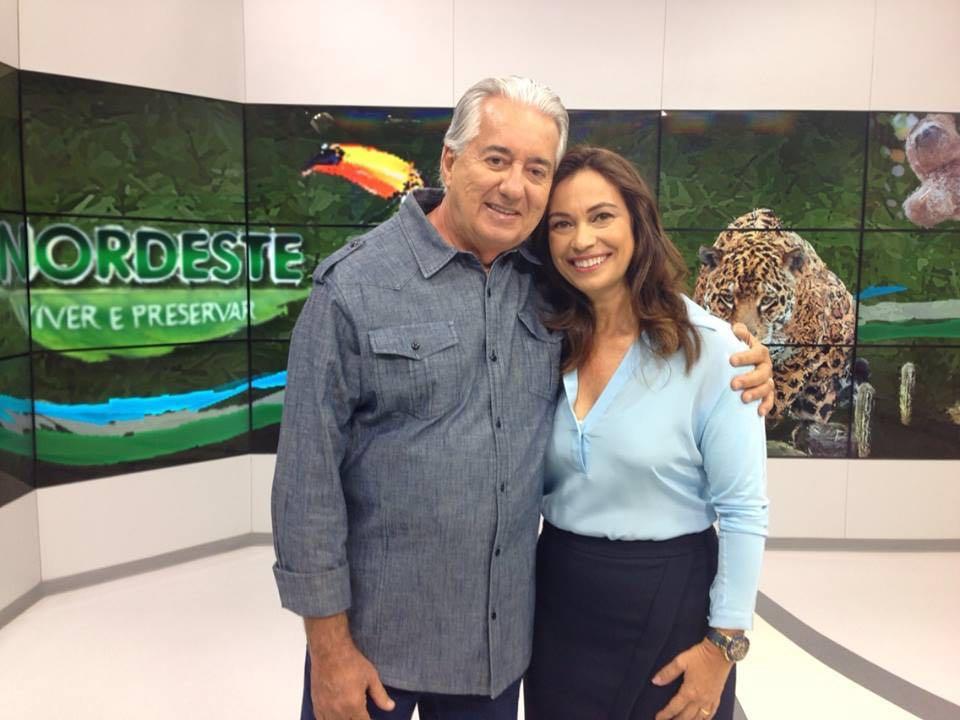 Francisco José e Beatriz Castro - Crédito: Divulgação/TV Globo