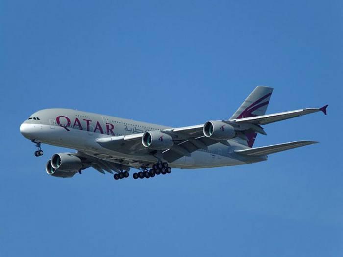Avião da Qatar/Divulgação