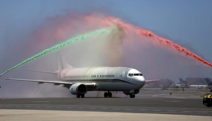 Avião da seleção portuguesa