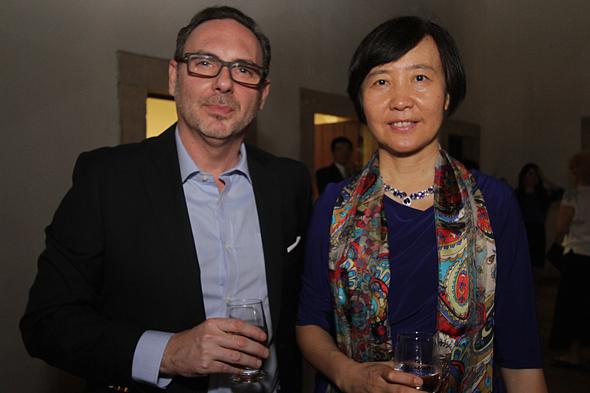 Cônsul da China e Vice- cônsul de Portugal, Li Feyiue e Marco Ferreira.