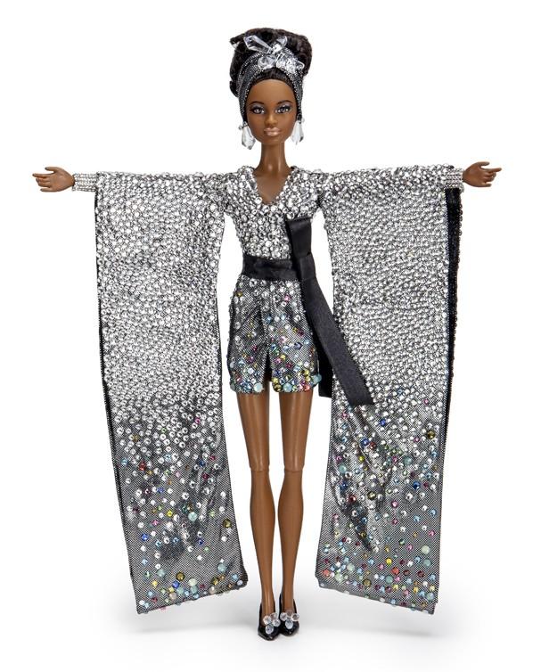 A boneca criada por Dudu Bertholini - Crédito: Divulgação