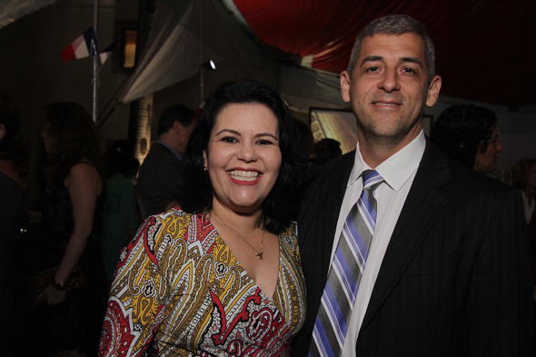 Vereador André Regis e a esposa, . Crédito: Rodrigo Ramos/ Esp. DP