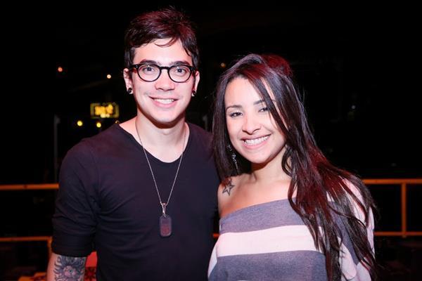 Lucas Borba e Ariana Rodrigues - Crédito: Wellington Silva/Divulgação