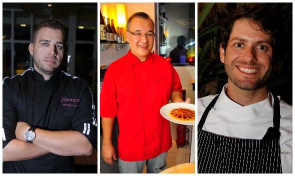 Armando Pugliesi, Marcio Fushimi e Andre Falcao - Créditos: Ricardo Fernandes/DP, Roberto Ramos/DP, Ricardo Fernandes/DP
