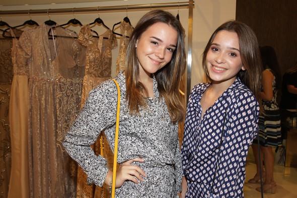Victoria Reiter e Phoebe Reiter. Credito: Roberto Ramos/DP - BLOG/