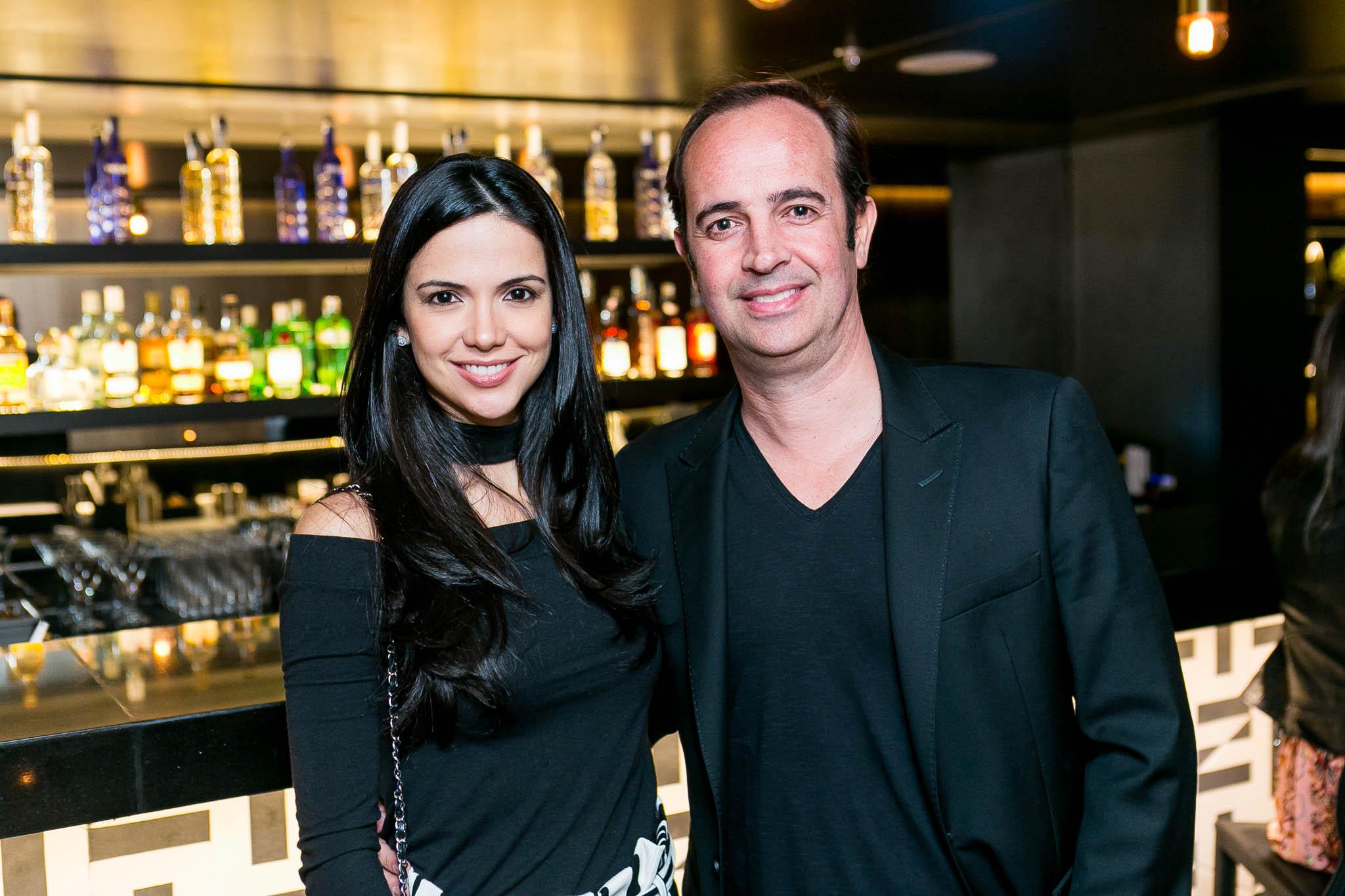 Luciana e André Beck - Crédito: Bruno Ryfer/Divulgação