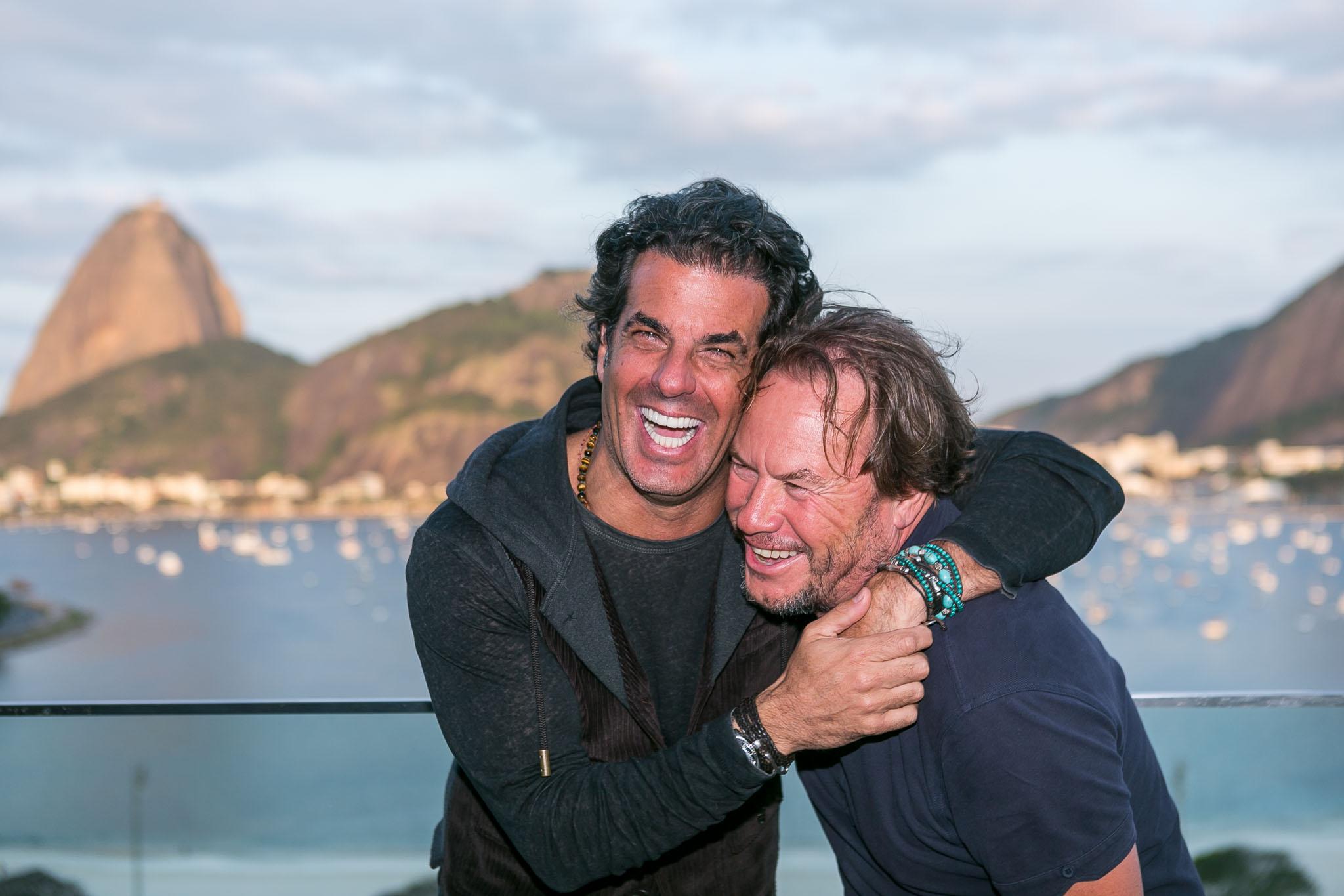 Alvaro Granero e John Hitchcox - Crédito: Bruno Ryfer/Divulgação