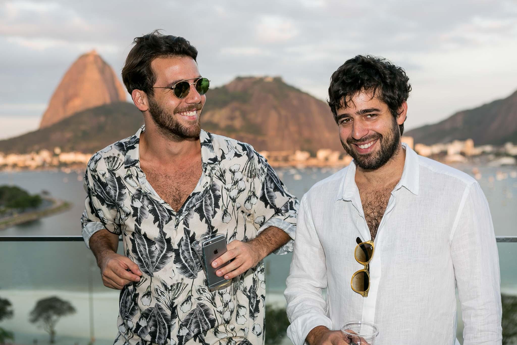 André Namitala e Pedro Loreto - Crédito: Bruno Ryfer/Divulgação