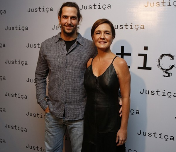 Adriana Esteves e Vladimir Brichta - Crédito: Ellen Soares/Gshow