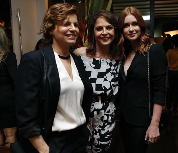 Débora Bloch, Drica Moraes e Marina Ruy Barbosa - Crédito: Ellen Soares/Gshow