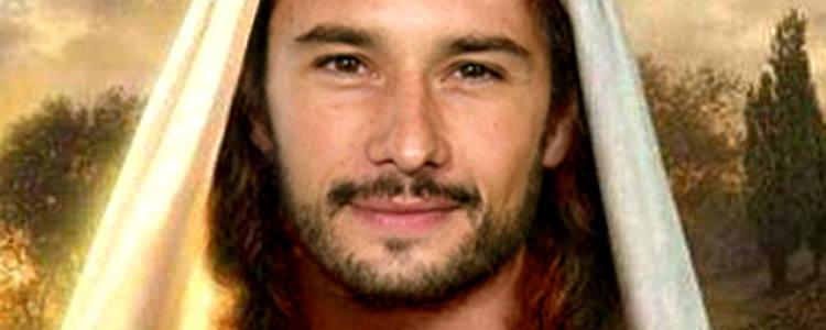 Rodrigo Santoro caracterizado de Jesus/Divulgação