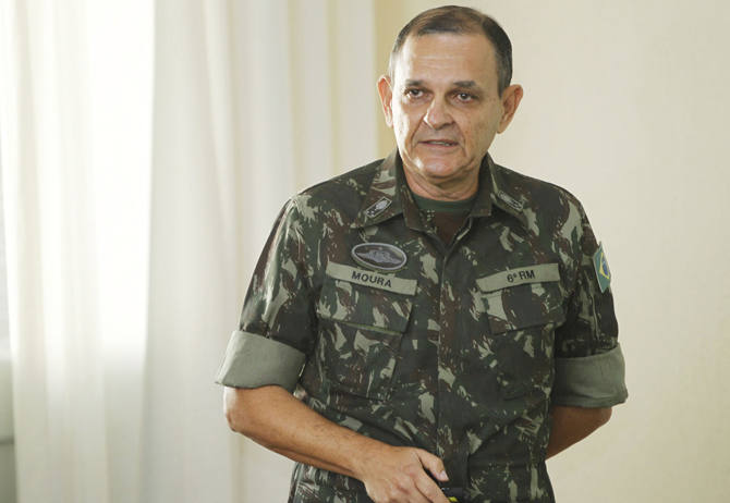 General Artur Costa Moura,futuro comandante do CMN/Divulgação