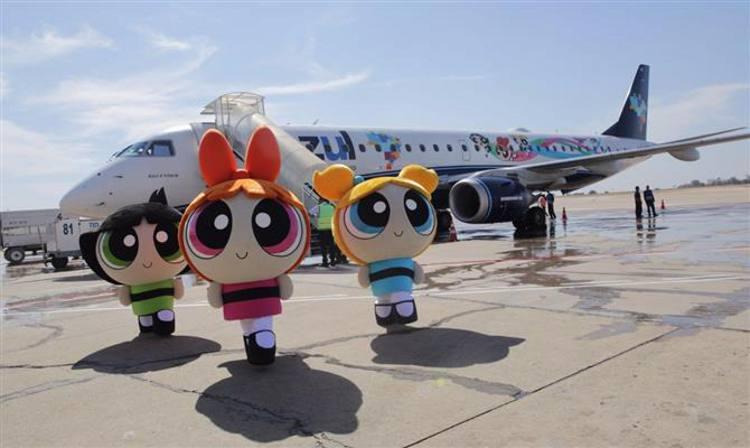 O avião e as três irmãs